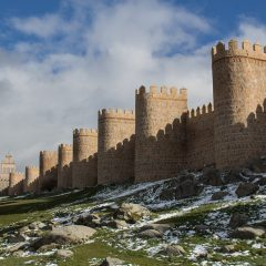 Day trips from Madrid: Crenelated walls in Avila