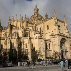 Day trips from Madrid: Segovia Cathedral, Spain