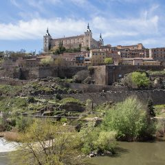 Day trips from Madrid: View of Toledo, Spain
