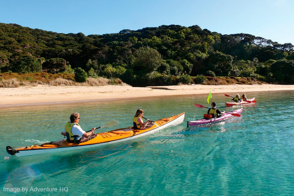 Things to Do in New Zealand: Kayaking in the Bay of Islands, Northland