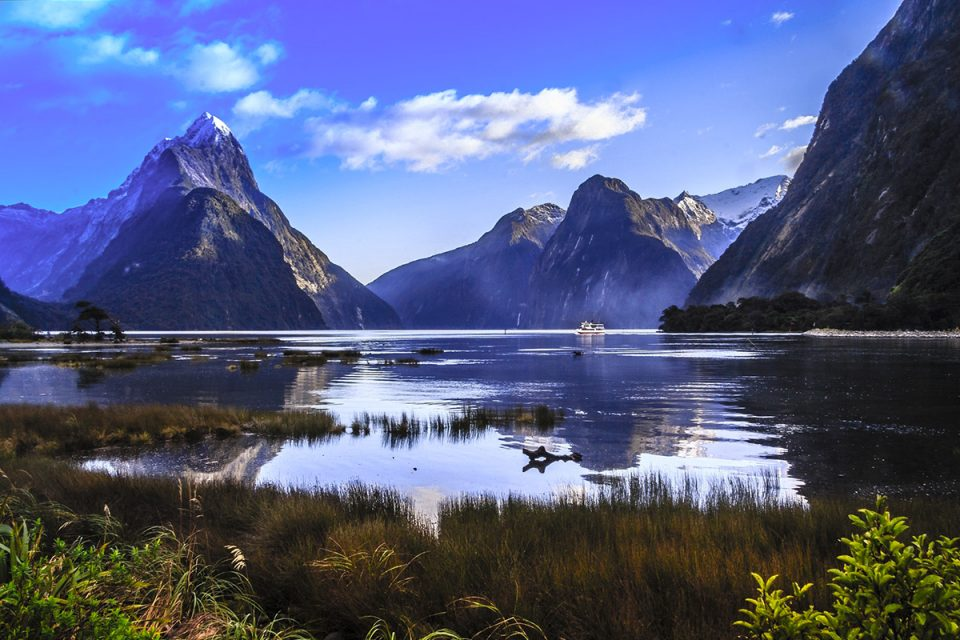 Mitre Peak Milford Sound, New Zealand