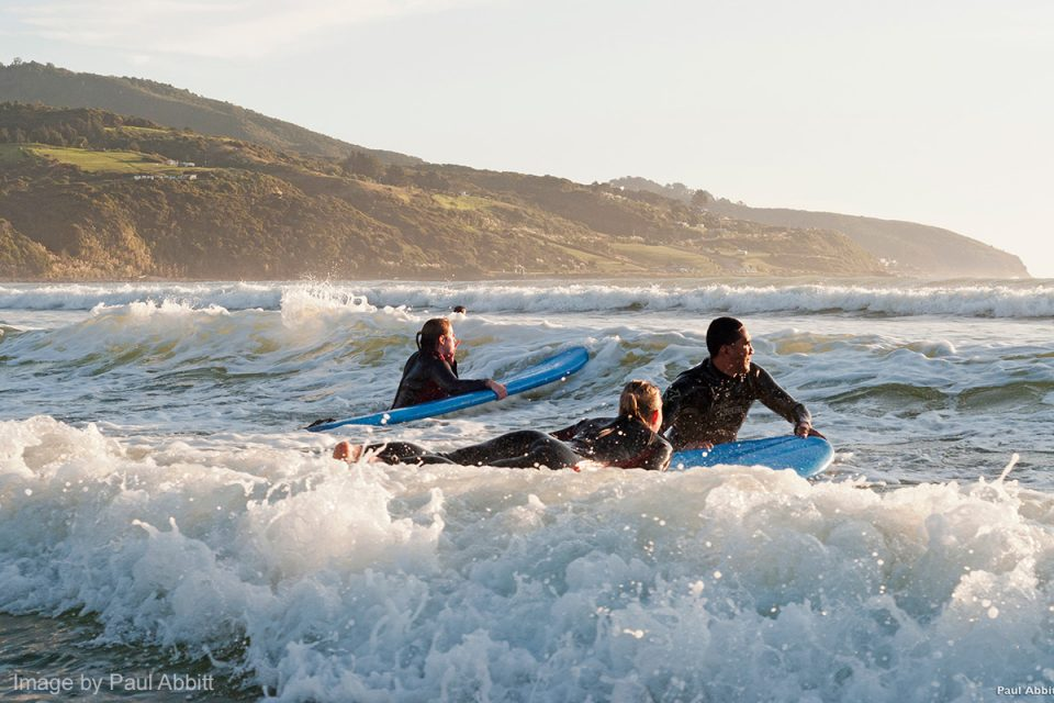 Things to Do in New Zealand: Surfing at Raglan Beach, Waikato