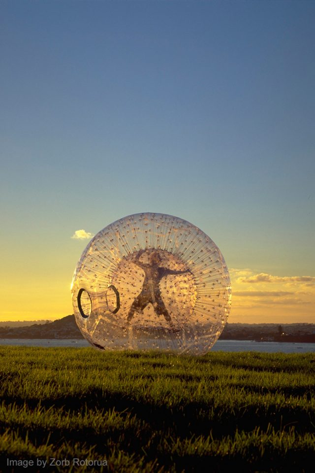 Things to Do in New Zealand: Rotorua Zorbing