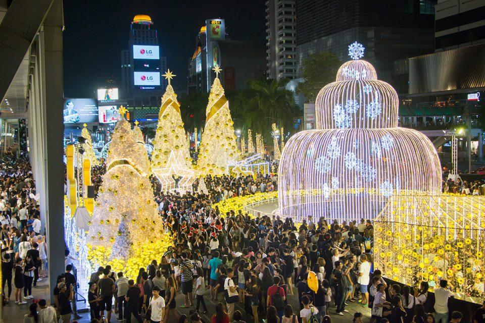 Bangkok Siam Paragon Christmas market