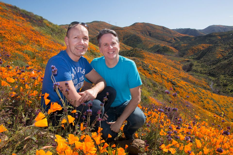 Thomas and Tony at Walker Canyon