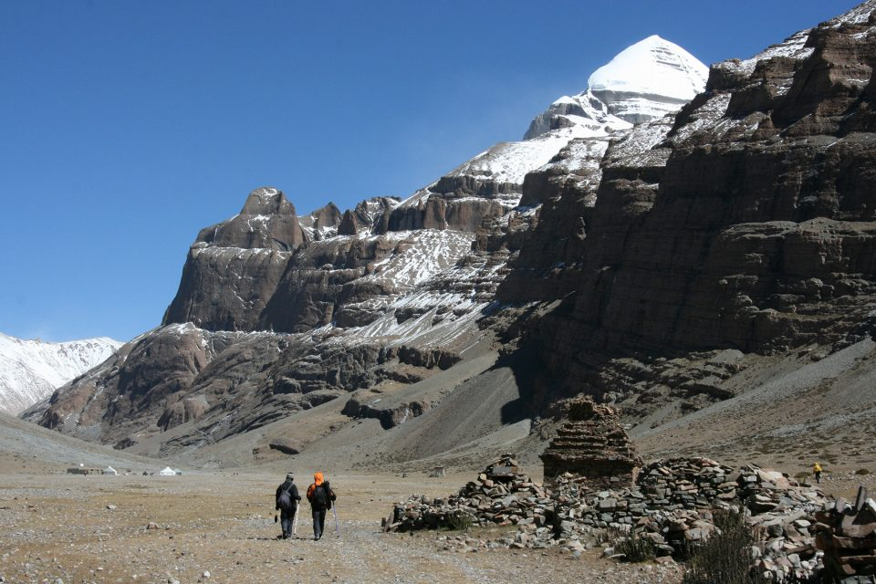 Approaching Mt. Kailash