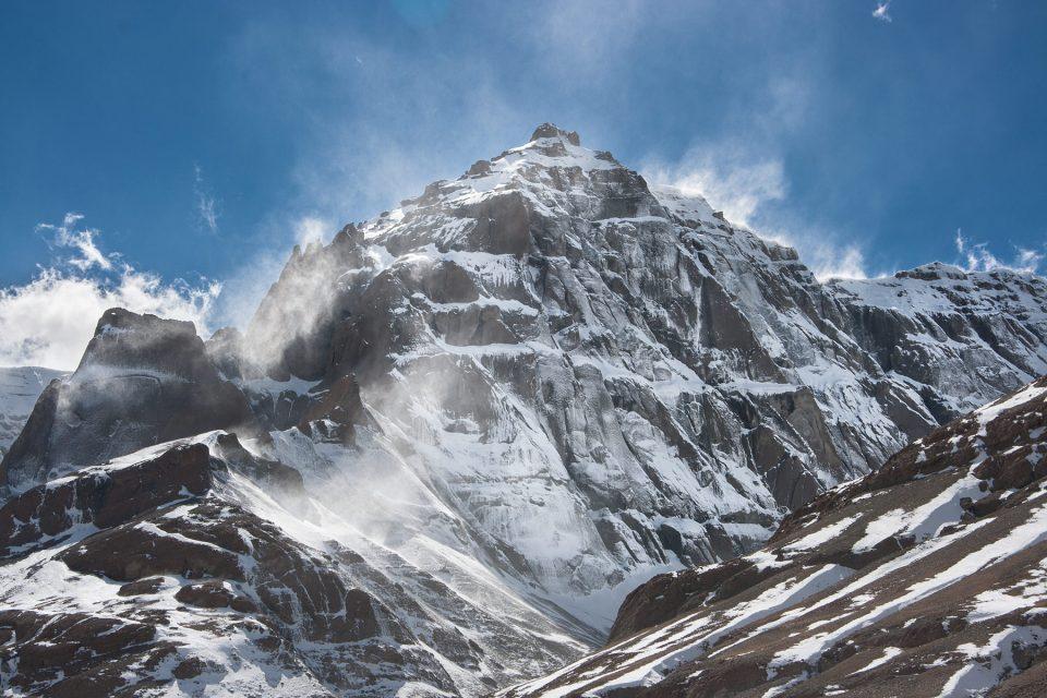 Wind-swept peaks near Kailash