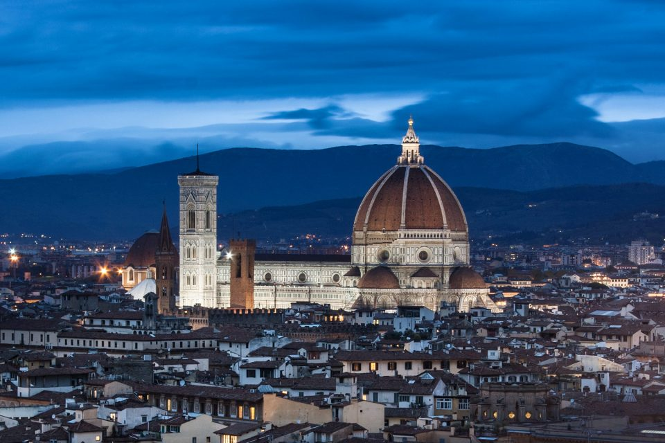 Florence at sunset, Tuscany