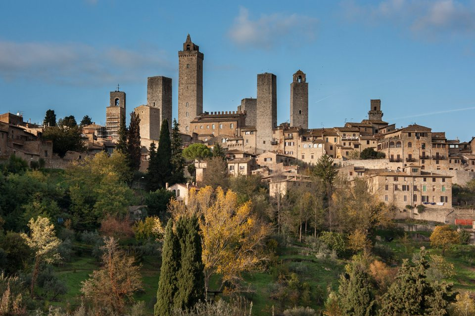 The famous towers of San Gimignano, Tuscany