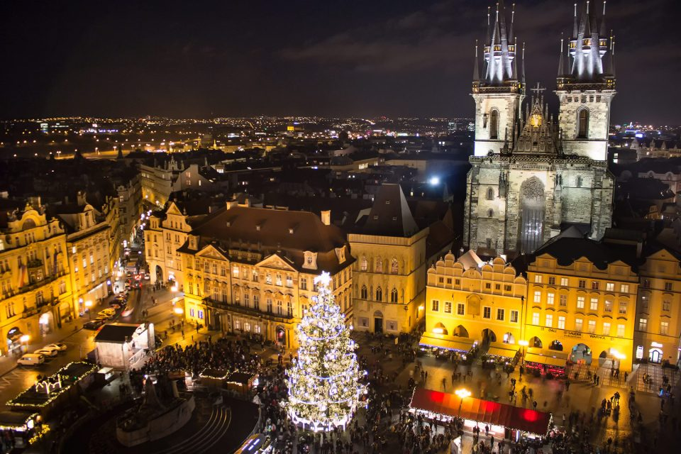 Christmas Market in Prague Old Town Square