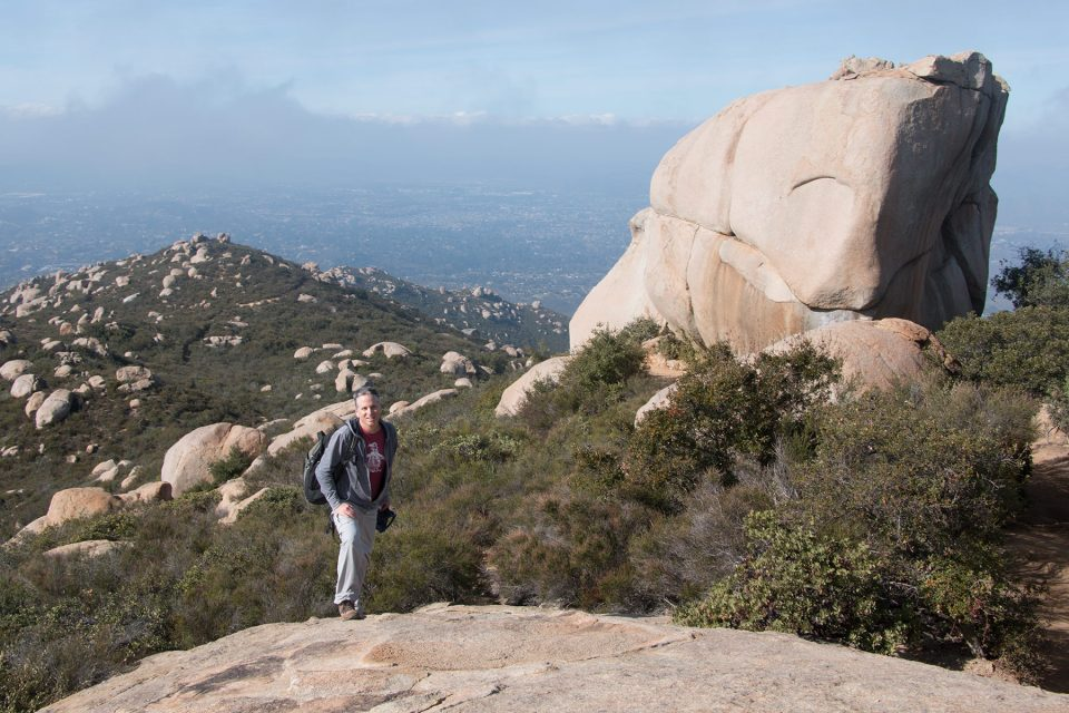 Hiking to Potato Chip Rock