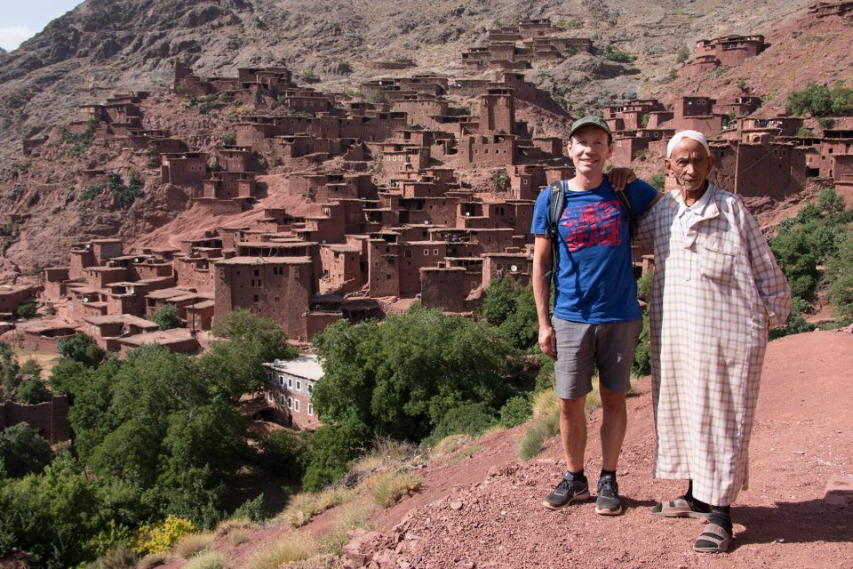Remote village in the Atlas Mountains