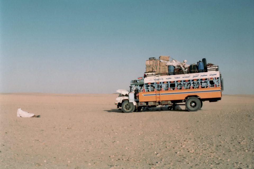 Crossing the Sahara in Sudan