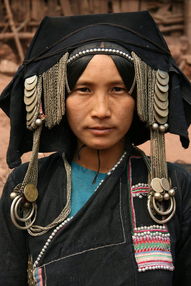 Akha woman in northern Laos