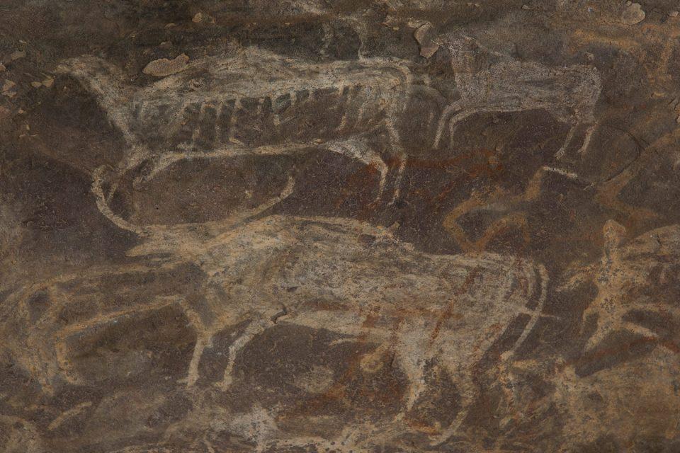 Bhimbetka cave paintings