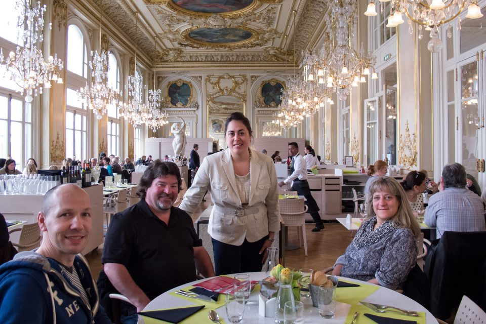 French food extravaganza: Lunch at the spectacular Musee d'Orsay