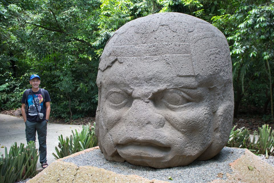 Colossal Olmec Head La Venta Monument 4