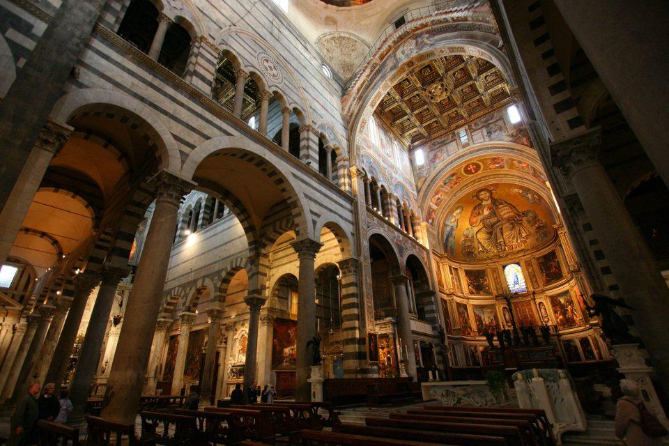 Interior of the Cathedral of Santa Maria Assunta, Pisa