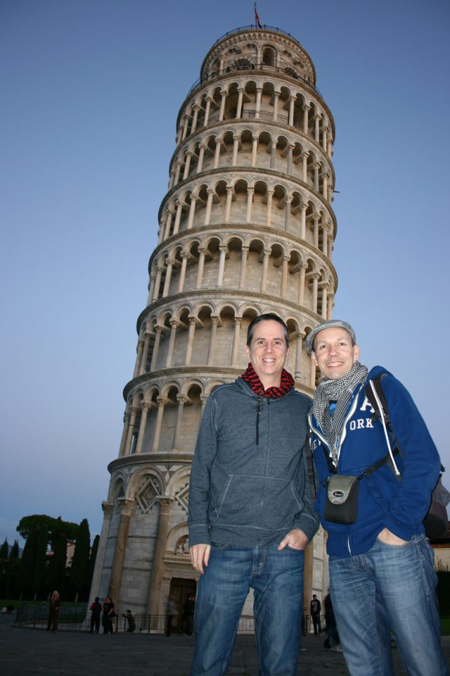 TnT at the Leaning Tower of Pisa