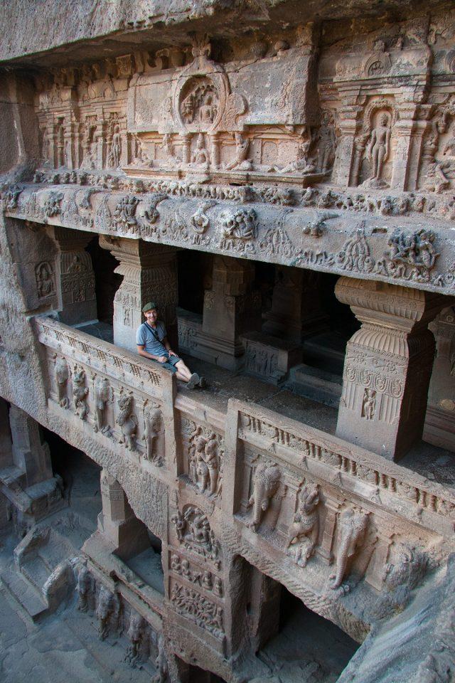 Exploring Ellora Cave Temples