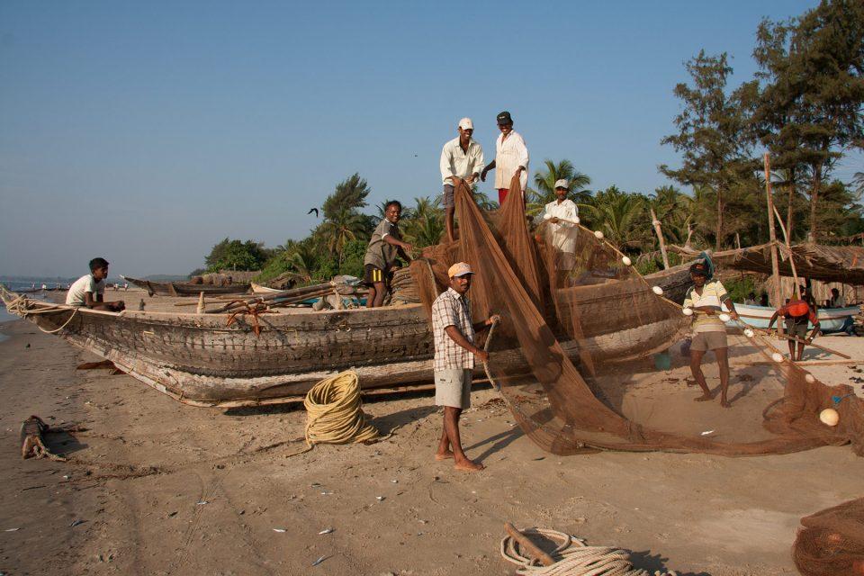 Fishermen in Maharashtra