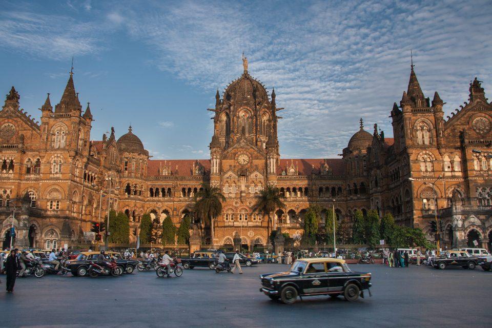 Chhatrapati Shivaji Terminus (Victoria Terminus) in Mumbai