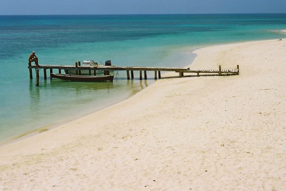 Beautiful West Bay Beach on Roatan in Honduras